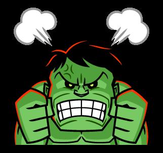 ยักษ์เขียว Hulk โกรธควันออกหู