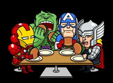 MARVEL Heroes Dinner