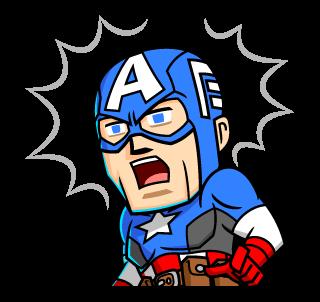 Captain America ตกใจ