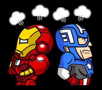 IRON MAN กับ Captain America
