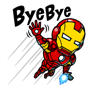 IRON MAN Bye Bye