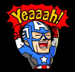 Captain America Yeaaah!