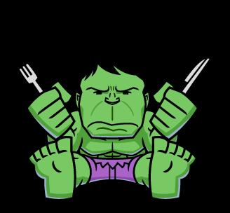 ยักษ์เขียว Hulk หิว Hungry..