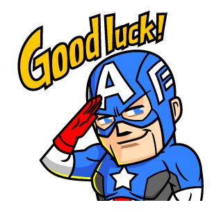 Captain America Good Luck!