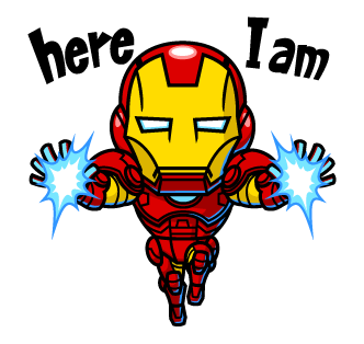 IRON MAN here I am