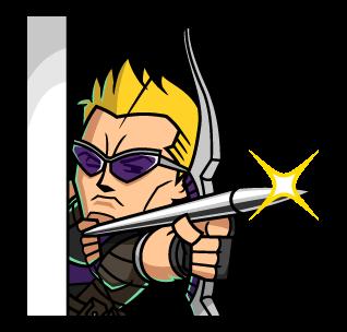 Hawkeye ยิงธนู