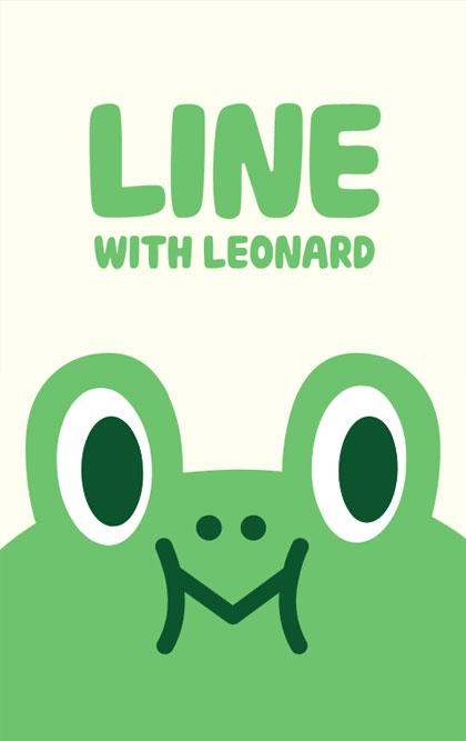 Leonard (ธีมไลน์กบเขียว)