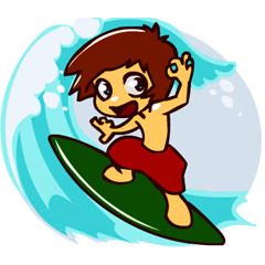 U Surf Me Crazy!