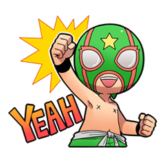 The Masked wrestler Andy!