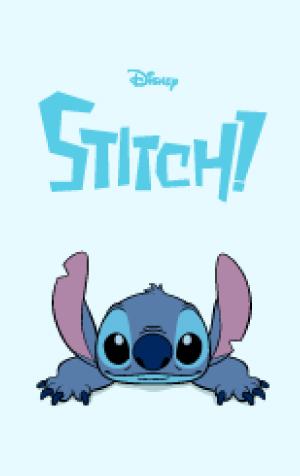 สติ๊กเกอร์ไลน์ชุด Stitch ธีมสติช