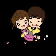 คู่รักคู่เกรียน Cute Couple Go&Nana EP.2