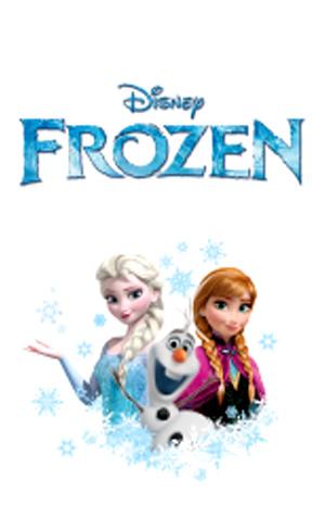สติ๊กเกอร์ไลน์ชุด ธีม Frozen