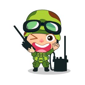 Khwam Suk's Army cosplay costume