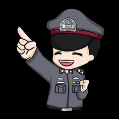 สติ๊กเกอร์ไลน์ We are baby police !!