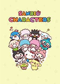 สติ๊กเกอร์ไลน์ชุด ตัวการ์ตูน SANRIO