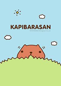 theme line KAPIBARA-SAN