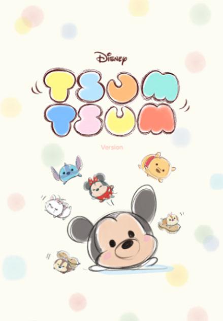 สติ๊กเกอร์ไลน์ชุด Disney TsumTsum น่ารักสบายๆ