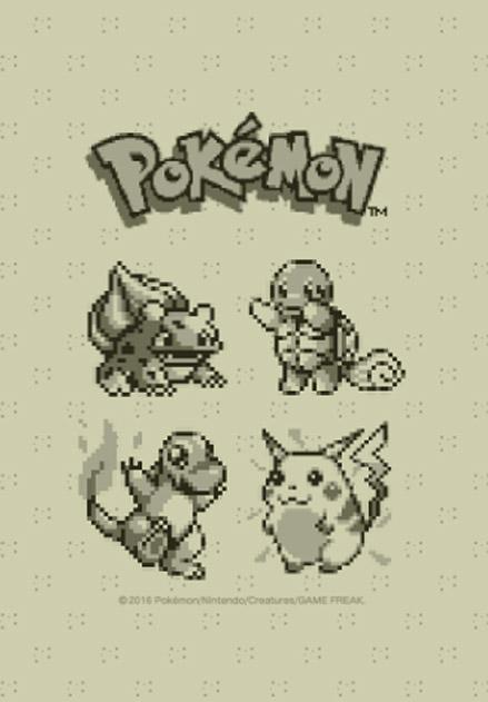 สติ๊กเกอร์ไลน์ชุด Pokémon ลายพิกเซล