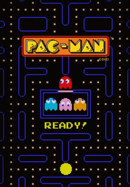 สติ๊กเกอร์ไลน์ชุด PAC-MAN