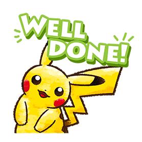 สติ๊กเกอร์ไลน์ชุด Pokémon ชุดชีวิตประจำวัน