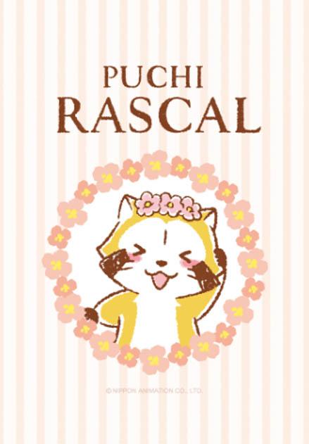 สติ๊กเกอร์ไลน์ชุด RASCAL☆FLOWER