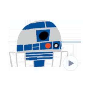 สติ๊กเกอร์ไลน์ชุด สติกเกอร์อนิเมชัน Star Wars™