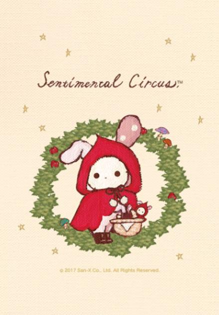 สติ๊กเกอร์ไลน์ชุด Sentimental Circus. หนูน้อยหมวกแดง