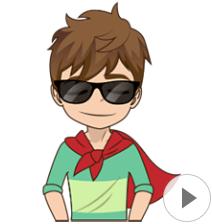 สติ๊กเกอร์ไลน์ชุด About Ben Animated