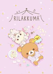 สติ๊กเกอร์ไลน์ชุด Rilakkuma: pajama party