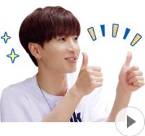 สติ๊กเกอร์ไลน์ชุด Super Junior in SJ Returns 2