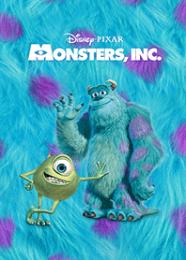 สติ๊กเกอร์ไลน์ชุด Monsters, Inc. ซัลลีมาแล้ว