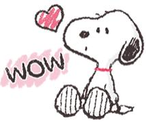 สติ๊กเกอร์ไลน์ชุด Snoopy สติกเกอร์เพื่อนรัก