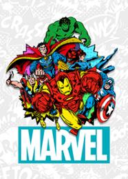 สติ๊กเกอร์ไลน์ชุด Marvel Comics ป๊อปดีไซน์