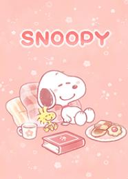 สติ๊กเกอร์ไลน์ชุด Snoopy วันพักผ่อน