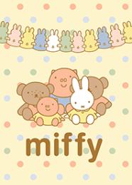 สติ๊กเกอร์ไลน์ชุด miffy กับเพื่อนๆ