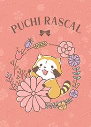 สติ๊กเกอร์ไลน์ชุด Rascal☆โลกแห่งดอกไม้