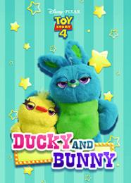 สติ๊กเกอร์ไลน์ชุด Ducky & Bunny