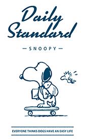 สติ๊กเกอร์ไลน์ชุด Snoopy สำหรับใช้ในทุกวัน (ขาว)