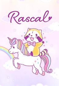 สติ๊กเกอร์ไลน์ชุด Rascal☆น่ารักชวนฝัน