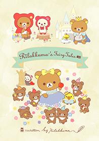 สติ๊กเกอร์ไลน์ชุด Rilakkuma's fairy tales
