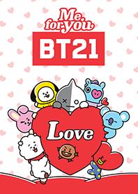 สติ๊กเกอร์ไลน์ชุด BT21: Me For You