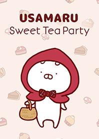สติ๊กเกอร์ไลน์ชุด Usamaru: Sweet Tea Party