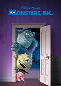 สติ๊กเกอร์ไลน์ชุด Monsters, Inc. ใครอยู่หลังประตู