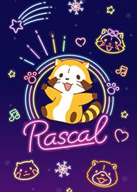 สติ๊กเกอร์ไลน์ชุด Rascal☆Neon
